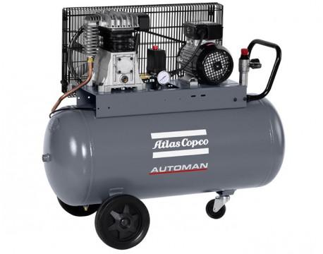 Compressore a Pistoni 2,2 kw 6,6 l/s con serbatoio 50 litri Automan AC 31