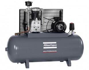 Compressore a Pistoni 4 kw 10,9 l/s con serbatoio 270 litri Automan AC 55