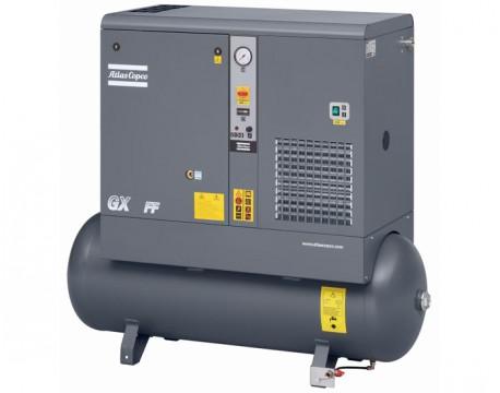 Compressore a Vite 4 kw 7,8 l/s con serbatoio 200 litri GX4 TM FF