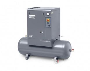 Compressore a Vite 4 kw 7,8 l/s con serbatoio 200 litri GX4 TM