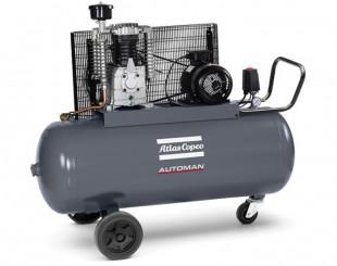 Compressore a Pistoni 2,2 kw 6,6 l/s con serbatoio 200 litri Automan AC 31