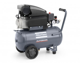 Compressore a Pistoni 1,85 kw 4,5 l/s con serbatoio 24 litri Automan AF 25