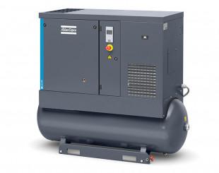 Compressore a vite 11kw 24 l/s con serbatoio da 270 litri TM FF