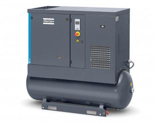 Compressore a vite 11kw 24 l/s con serbatoio da 270 litri TM