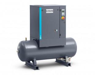Compressore a vite 3 kw 6,1 l/s con serbatoio da 200 litri - DOL