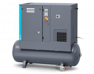 Compressore a vite 3 kw 6,1 l/s con serbatoio da 200 litri FF - DOL