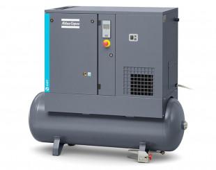 Compressore a vite 4 kw 8,6 l/s con serbatoio da 200 litri FF - Y/D