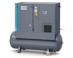 Compressore a vite 5,5 kw 13 l/s con serbatoio da 200 litri FF - Y/D