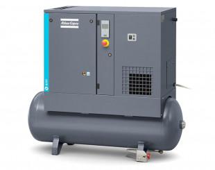 Compressore a vite 7,5 kw 16,4 l/s con serbatoio da 200 litri FF - Y/D