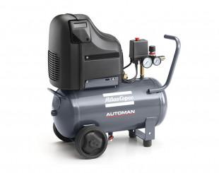 Compressore a Pistoni 1,5 kw 3,7 l/s con serbatoio 24 litri Automan AH 15